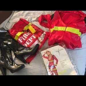 Halloween sexy firefighter for sale